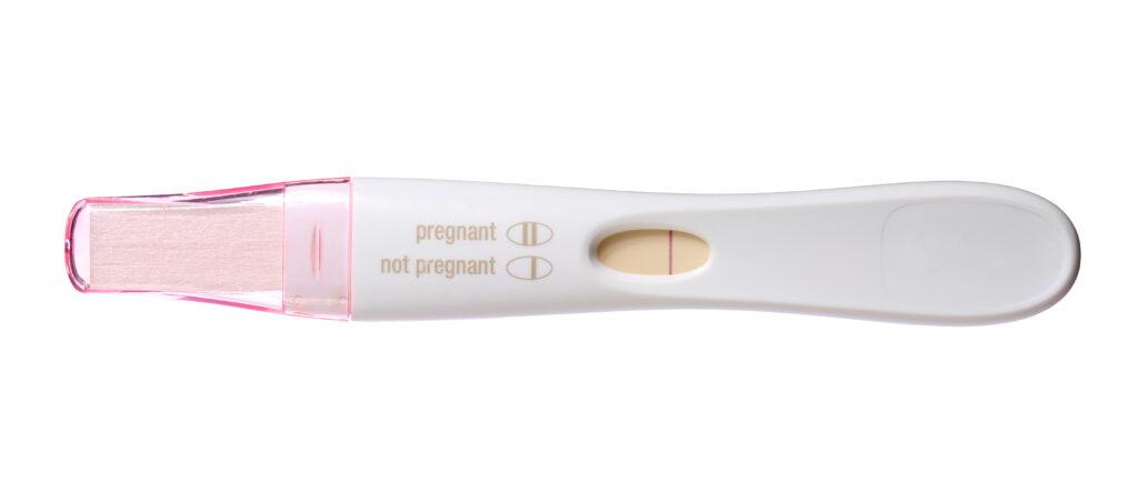 Negative pregnancy test